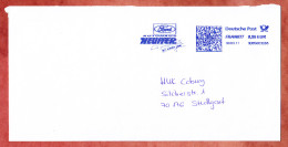 Brief, FRANKIT Francotyp-Postalia 3D050.., Ford Autohaus Neuffer, 55 C, Herrenberg 2011 (32152) - [7] Repubblica Federale