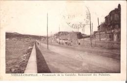 Vieille Chapelle - Promenade De La Corniche - Restaurant Des Palmiers - Marseilles