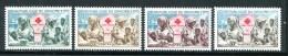 DAHOMEY- Y&T N°175 à 178- Neufs Sans Charnière ** (croix Rouge) - Bénin – Dahomey (1960-...)