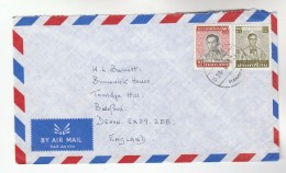 THAILAND  Air Mail COVER Stamps To GB - Thailand