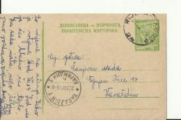 RIJEKA - ZAGREB   ---  RAILWAY CANCEL, BAHN - POST STEMPEL - 1945-1992 Sozialistische Föderative Republik Jugoslawien