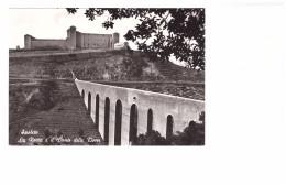Italie Spoleto Spolete La Rocca E Il Ponte Delle Torri , Carte Non Voyagée - Perugia