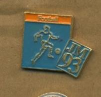 G# - PIN´S:  JM 93 - Football