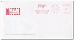 Coburg 2.8.85. Und 2.7.85., Prodinger Verpackung ( Nur Vorder- Brief ) - Brieven En Documenten