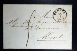 Cover Van STAPHORST Naar Meppel 1853 - ...-1852 Voorlopers