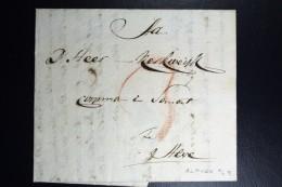 Complete Letter Den Haag  Naar Alphen  1801   3 Stuiver Port Stempel - Pays-Bas