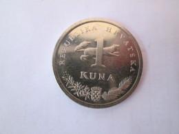 CROATIA 1 Kuna 1999  Anniversary Coin 5 Years Of Kuna 1994 - 1999 # 4 - Croazia