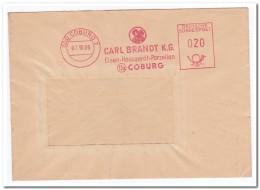 Coburg 07.10.60., Carl Brandt, Eisen-Hausgerät-Porzellan - [7] West-Duitsland