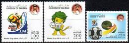 Bahrain 2010 Football World Cup 3v MNH - 2010 – Afrique Du Sud