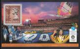 Hong Kong MNH Scott #757 Souvenir Sheet $10 Queen Elizabeth II, Brown - 1996 Summer Olympics - Ete 1996: Atlanta