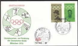 Germany Bonn 1968 / Olympic Games Mexico City / Athletics / Harbig, Langen - Zomer 1968: Mexico-City