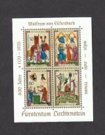 Liechtenstein ** Block 8 Minnesänger 30 Stück Katalog 90,00 - Unused Stamps
