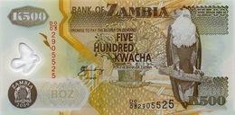 ZAMBIA 500 KWACHA 2009 P-43g UNC [ZM145g] - Zambie