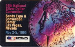 16th National Silver Dollar Convention 1995 =old Coin = VERY RARE !!! - United States