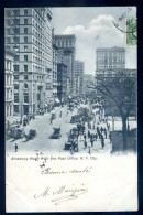 Cpa Des USA New York Broadway North From The Post Office   LIOB116 - NY - New York