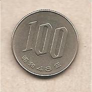 Giappone - Moneta Circolata Da 100 Yen - 1967/1988 - Giappone