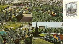 PIETRAMURATA  TRENTO  Camping Daino  Campeggio  Auto Volvo - Trento