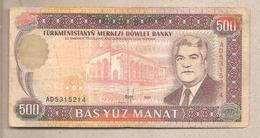 Turkmenistan - Banconota Circolata Da 500 Manat - 1995 - Turkmenistan
