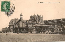 CPA-1910-62-ARRAS-LA GARE-TBE - Arras