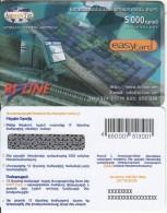 ARMENIA - Bi Line, ArmenTel Prepaid Card 5000 AMD, Tirage 5000, Exp.date 30/10/06, Sample