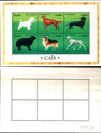 83531) Angola-1998-fauna-cani-foglietto N.1151-1156 - Nuovo-cat-12 Euro - Angola
