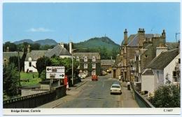 COMRIE : BRIDGE STREET - Perthshire