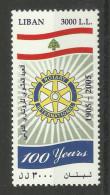 LEBANON 2005 100th ANNIVERSARYOF ROTARY MNH - Rotary, Lions Club