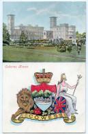 ISLE OF WIGHT : OSBORNE HOUSE - COWES / POSTMARK - BITTERNE, SOUTHAMPTON (SINGLE CIRCLE) - Cowes