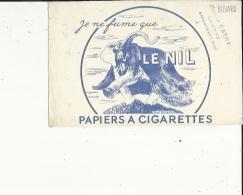 Buvard G F_21 X 12- De ( MAISON  CATRY A Armentières 59;...Le Nil  PAPIERS A CIGARETTES...Voir San - Tabac & Cigarettes