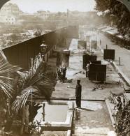 Indes Bombay Crématorium Hindu Pres De Malabar Hill Ancienne Photo Stereoscope Underwood 1903 - Stereoscopic