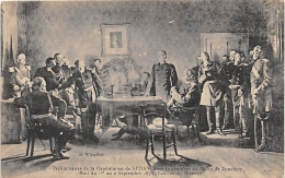 ARDENNES  08   DONCHERY  CHAMBRE DU MAIRE  CAPITULATION  GUERRE 1870 71  CARTE DESSINEE - Other Municipalities