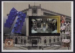 Mexico (Sc# 2022) MNH (Souvenir Sheet Of 1) 90th Anniversary Mexico Central Post Office  (1997) - Mexico