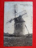 Cpa 21 MONTCEAU ECHARNANT  Le Moulin A Vent - Frankreich
