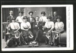 CPA Damen-Trompeter-Corps Elblust, Dir. Fritz Thiele - Musik Und Musikanten