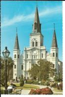 LOUISIANA---NEW-ORLEANS---st-louis Cathédral---voir 2 Scans - New Orleans
