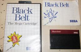 SEGA BLACK BELT - Sega