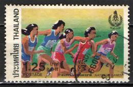 TAILANDIA - 1984 - CAMPIONATO NAZIONALE DI ATLETICA - USATO - Thaïlande