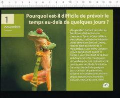 2 Scans / Météo Grenouille / Paresseux Animal  / BIM 172/12 - Vieux Papiers