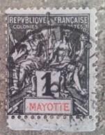 MAYOTTE - YT N°1 - Oblitéré - Mayotte (1892-2011)