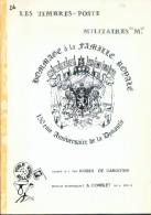 """R. De CABOOTER, LES TIMBRES-POSTES MILITAIRES """"M"""", Ed. A. Comblet, BPS8, 1981, 71 Pages.  Etat TB - - Poste Militaire & Histoire Postale"""
