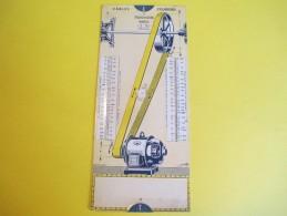 Mécanique/Réglette Carton  Articulée/OMARO/Transmission-Cables-Courroies/Nation/Paris/1935    VPN55 - Supplies And Equipment