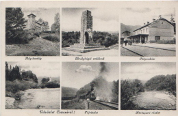 Csucsa, Ciucea, Erdély, Transilvania, Siebenbürgen (Romania, Former Hungary) Látkép, Peisaj, Ansicht, View, - Hungría