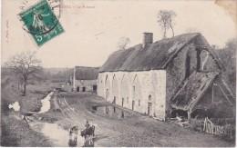 LA HAYE-PESNEL - Le Prieuré - Animé - Timbré 1910 - France