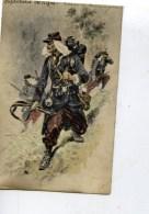 Infanterie De Ligne Tenue De Campagne ,carte Illustrée - Regiments