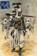 Troupier Africain ,carte Illustrée - Regiments