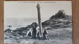 Lesconil.port Hiagat. La Croix Des Amoureux. Villard N °3426 - Lesconil