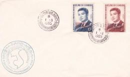 Cambodge - Lettre - Cambodja