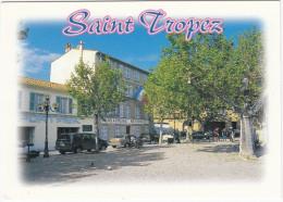 Saint Tropez: SUV, OPEL VECTRA, RENAULT TWINGO - Gendarmerie Nationale, Place A. Blanqui  - (France) - Voitures De Tourisme