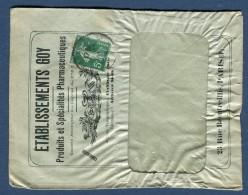 France - Enveloppe Commerciale De Paris En 1911  Voir 2 Scans - Réf. S 160 - Marcophilie (Lettres)