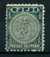 FIDJI ( POSTE ) : Y&T N°  40  TIMBRE  NEUF  AVEC  TRACE  DE  CHARNIERE , A  VOIR . - Fidji (...-1970)